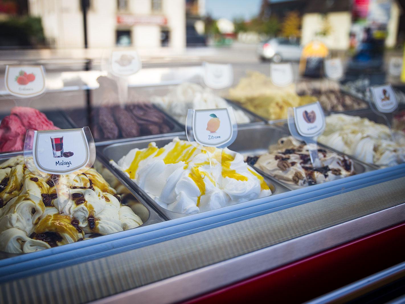 Dario – Eiscafé – Eissorten