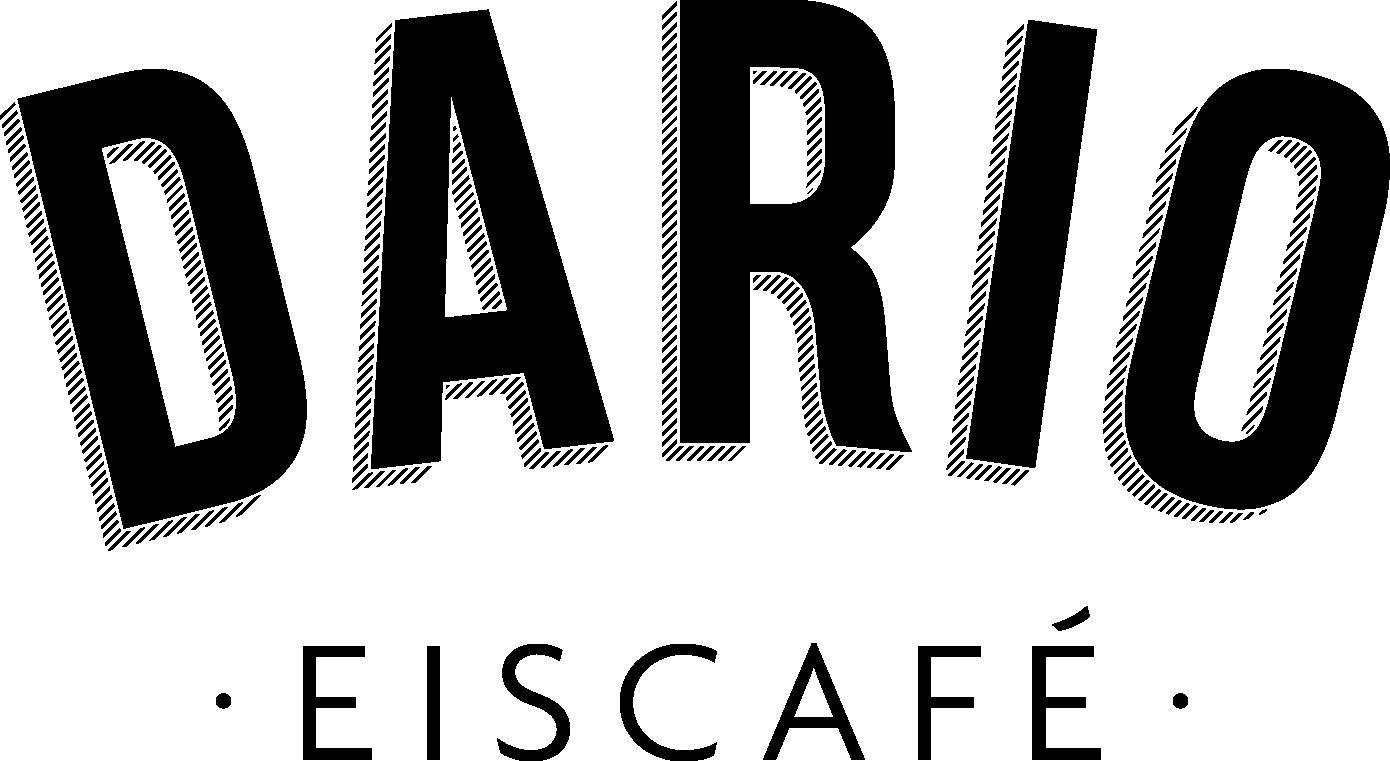 Dario – Eiscafé – Logo mit Schatten