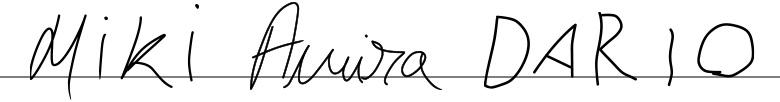 Signatur – Miki, Amira & Dario